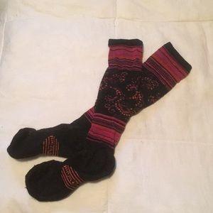 Knee-high smartwool socks